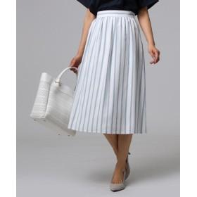 UNTITLED(アンタイトル) フレスコストライプ スカート