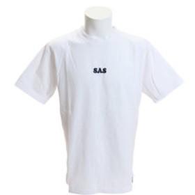【Super Sports XEBIO & mall店:トップス】ヘビー天竺 刺繍ロゴTシャツ SAS1917205-1-WHT