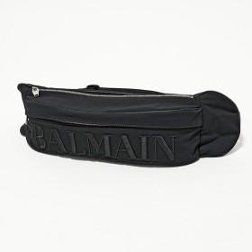 BALMAIN バルマン SM1S040TNYT ナイロン ベルトバッグ ボディバッグ 立体ロゴ刺繍 0PA/Noir メンズ