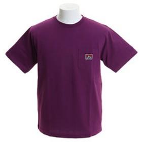【Super Sports XEBIO & mall店:トップス】【オンライン特価】無地ベーシック ピスネーム ポケット 半袖Tシャツ 9580000-VIO