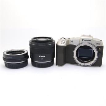 《美品》Canon EOS RP RF35 MACRO IS STM マウントアダプターSPキット ゴールド