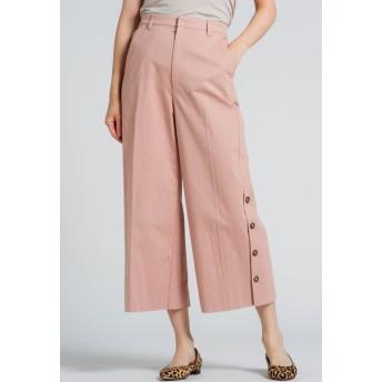MAYSON GREY サイドボタンクロップドパンツ その他 パンツ,ピンク