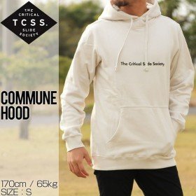 TCSS ティーシーエスエス COMMUNE HOOD プルオーバーパーカー FC1818 DIRTYWHITE