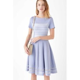 JILLSTUART ◆アニーニットドレス ブルー 2