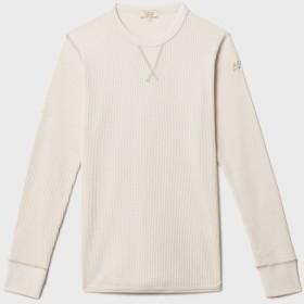 AIGLE レディース レディース 吸水速乾 ワッフル 長袖Tシャツ ZTF029J ECRU (102) Tシャツ