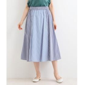 NIMES / ニーム Patterned Fabric イージーフレアースカート(st)