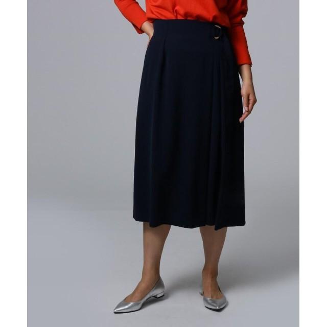 UNTITLED(アンタイトル) ストレッチラップスカート