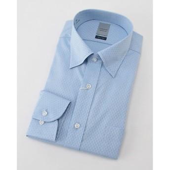 【SALE(三越)】<LORDSON/ロードソン> 長袖色ドビーワイシャツ(ZOD398-250)(MO019N0MO00000FJ6) 250サックス 【三越・伊勢丹/公式】