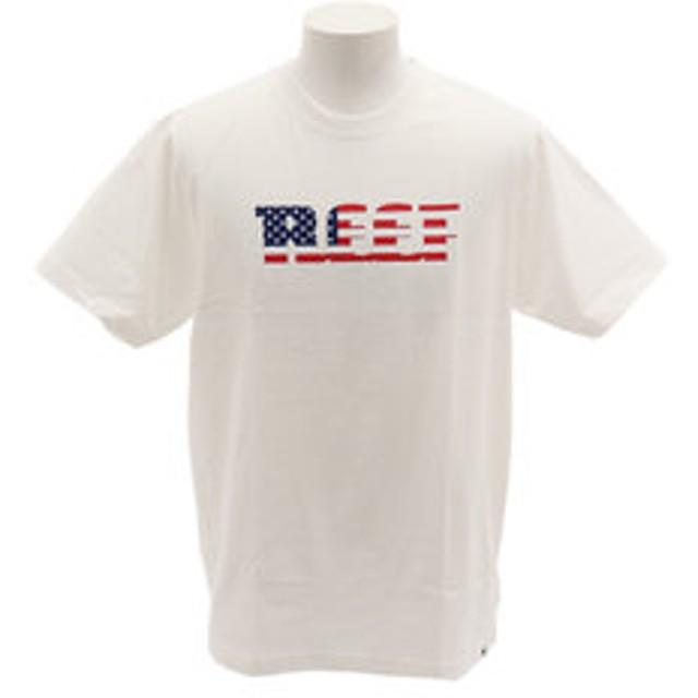 【Super Sports XEBIO & mall店:トップス】【オンライン特価】AMERICANA Tシャツ RF19SU-1001SS-WHT