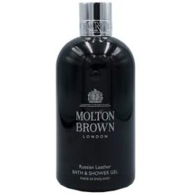 モルトンブラウン MOLTON BROWN ロシアンレザー バス&シャワージェル 300ml RUSSIAN LEATHER BATH&SHOWER GEL