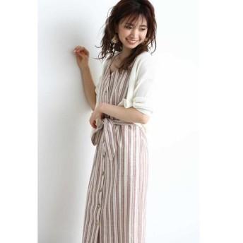 PROPORTION BODY DRESSING / プロポーションボディドレッシング ◆《EDIT COLOGNE》ストライプタイトジャンパースカート
