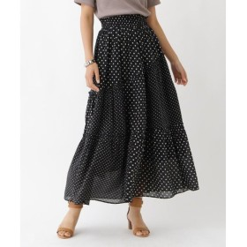 aquagirl / アクアガール ne Quittez pasコットンドットスカート