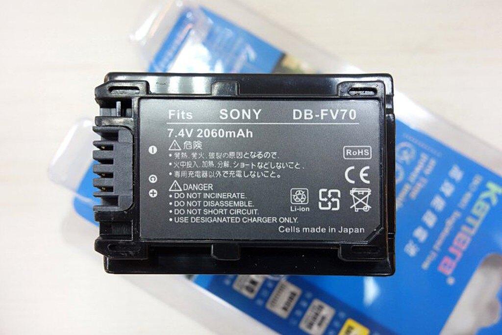 【中壢NOVA‧水世界】SONY DB-FV70 FV-70 FV70 電池 鋰電池 副廠電池 副電【一年保固直接換新】