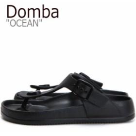 ドンバ サンダル DOMBA メンズ レディース OCEAN オーシャン BLACK ブラック EV-3001 シューズ