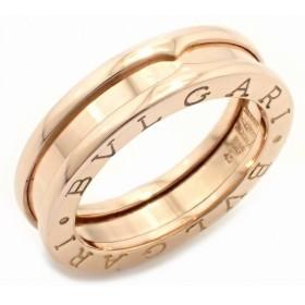 (ジュエリー)BVLGARI ブルガリ B.zero1 B-zero1 ビーゼロワン 1バンドリング 指輪 5号 #45 K18PG ピンクゴールド XSサイズ AN852422(k)