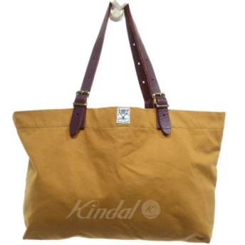 S2W8 SUNFORGER CANAL PARK TOTE キャメル (京都店) 190101