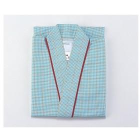 患者衣(男女兼用) 59−443 グリーンLL 住商モンブラン aso0-9802-04