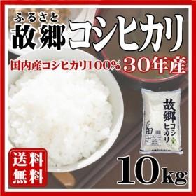 新米 お米 コシヒカリ米10kg 国内産 白米 令和元年 新米 故郷コシヒカリ 送料無料