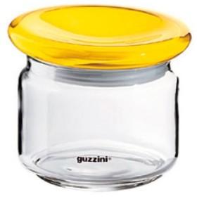 guzzini グッチーニ ガラスジャー 500cc 229909 88 レモンイエロー