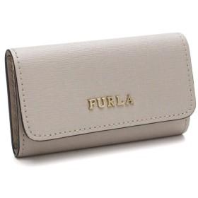 フルラ FURLA BABYLON 6連キーケース RL71 961090 B30 V89 VANIGLIA ベージュ系