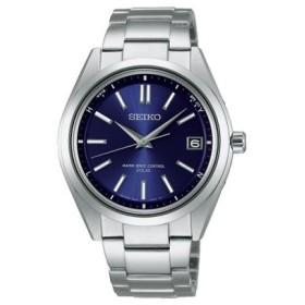 SEIKO セイコー ブライツ ソーラー電波 チタン SAGZ081:ブルー  時計/ウォッチ