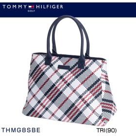 トミー ヒルフィガー ゴルフ メッシュ トートバッグ THMG8SBE