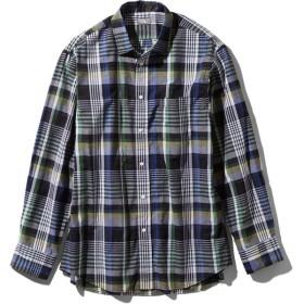 ノースフェイス ロングスリーブバハダネイチャーシャツ NR11957 H メンズ THE NORTH FACE L/S Bajada Nature Shirt