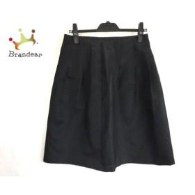 ランバンコレクション LANVIN COLLECTION スカート サイズ40 M レディース 美品 黒  値下げ 20190914