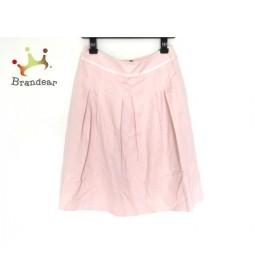 フランコフェラーロ FRANCO FERRARO スカート サイズ2 M レディース 美品 ピンク 花柄 新着 20190629