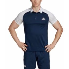 アディダス adidas メンズ トップス テニス Club Color-Block Tennis Polo Collegiate Navy/White
