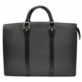 (バッグ)LOUIS VUITTON ルイ ヴィトン タイガ ロザン 書類カバン ビジネスバッグ ブリーフケース アルドワーズ 黒 ブラック M30052(u)