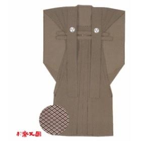 【お祭り用品・衣装】裃 かみしも M・L・LL染 茶系 C72342【お祭用品/祭用品/お祭り】
