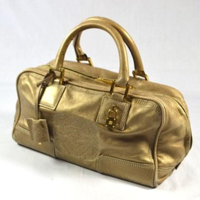 size 40 a73a5 c9992 LOEWE / ロエベ ◇アマソナ28 ハンドバッグ ゴールド ブランド ...