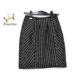 ジャスグリッティー JUSGLITTY スカート サイズ0 XS レディース 美品 黒×ネイビー×ベージュ   スペシャル特価 20191002