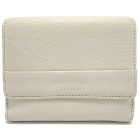 (財布)kate spade ケイトスペード Wホック財布 二つ折り 財布 レザー 白 ホワイト (u)