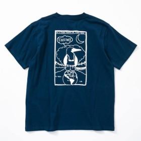 チャムス リテイナーブービーTシャツ CH01-1480 Navy メンズ CHUMS Retainer Booby T-Shirt