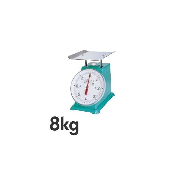 BHK5340 上皿自動ハカリ (平皿付) デカO型 フジ 40Kg
