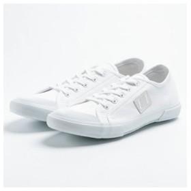 (FOOT PLACE/フットプレイス)エクリプス ECLIPS マカロニアン ビオナ メンズ キャンバス スニーカー EC42002/メンズ ホワイト
