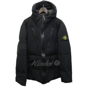 STONE ISLAND 41932「Water Repellent Wool Down Filled Jacket」ダウン ブラック サイズ:L (