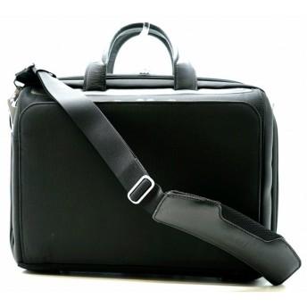 (バッグ)ZERO HALLIBURTON ゼロ ハリバートン ビジネスバッグ 書類鞄 書類カバン 2WAYバッグ ナイロン 黒 ブラック(k)