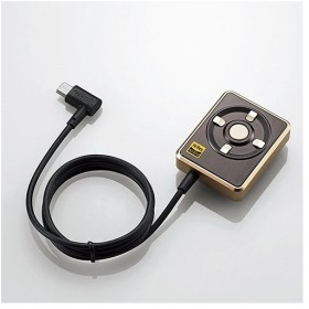 EHP-CHR192GD エレコム ハイレゾ DAC for Android microUSB ゴールド イヤホン付 オーディオアダプター