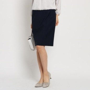 INDIVI インディヴィ シャドーストライプタイトスカート