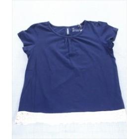 トリドリー TORIDORY Tシャツ 半袖 140cm 紺系 女の子 無地 ジュニア 子供服 通販 買い取り