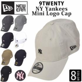 NEW ERA ベースボールキャップ キャップ 帽子 ロゴ スモールロゴ ニューエラ NY YANKEES ヤンキース