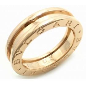 (ジュエリー)BVLGARI ブルガリ B.zero1 B-zero1 ビーゼロワン 1バンドリング 指輪 11号 #51 K18PG ピンクゴールド XSサイズ AN852422(k)