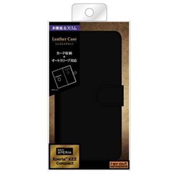 【レイアウト】 Xperia XZ2 Compact用ケース RT-RXZ2COELC3/BB スマートフォン用ケース