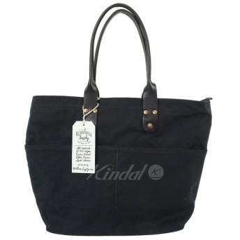 【12月26日値下】WORKERS SUPPLY キャンバストートバッグ ブラック サイズ:- (和歌山店)