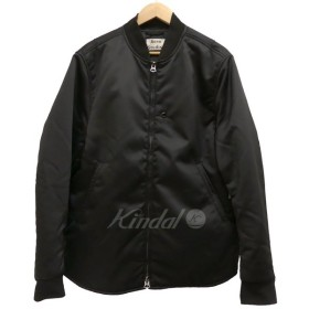 ACNE STUDIOS ジップアップジャケット MYLON MATT 2017AW ブラック サイズ:48 (茶屋町店) 190305