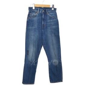 【SALE】 【20%OFF】 LEVIS VINTAGE CLOTHI 1950'S 701 クロップドデニム サイズ:24 (堀江店)