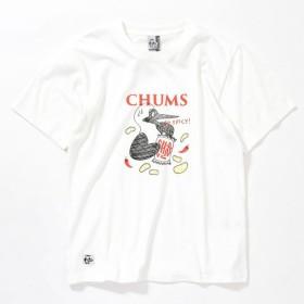 チャムス スナックTシャツ CH01-1501 White メンズ CHUMS Snack T-Shirt